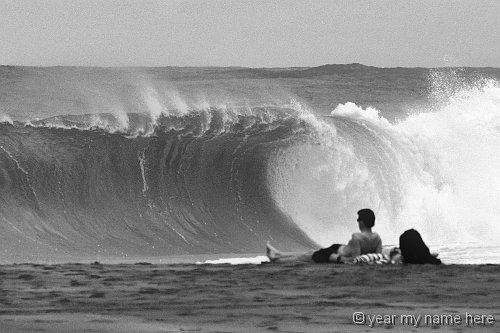 IMG_Lumahai Wave 4366_1 B&W