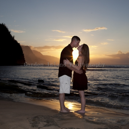 Kauai Engagement Photo -3