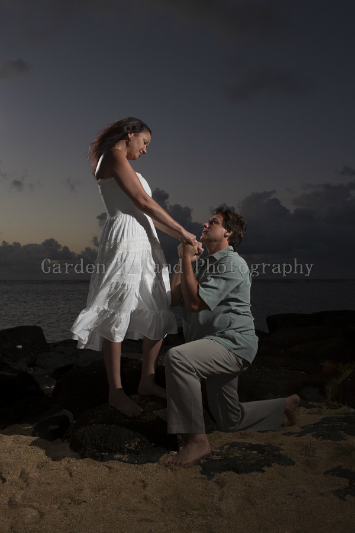 Kauai Engagement Photo 3971