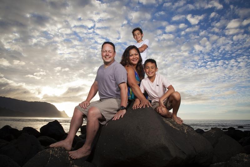 Kauai Family Portrait -8013