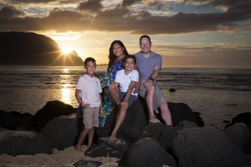 Kauai Family Portrait -8030