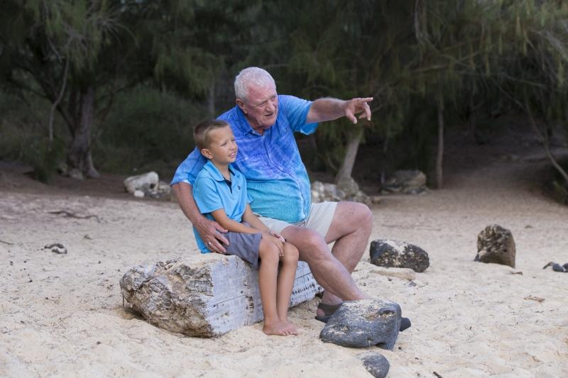Grandpa & Grandson Family Portrait Kauai -7904