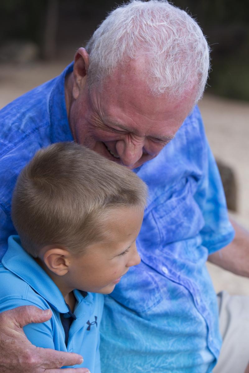 Grandpa & Grandson Family Portrait Kauail-7963