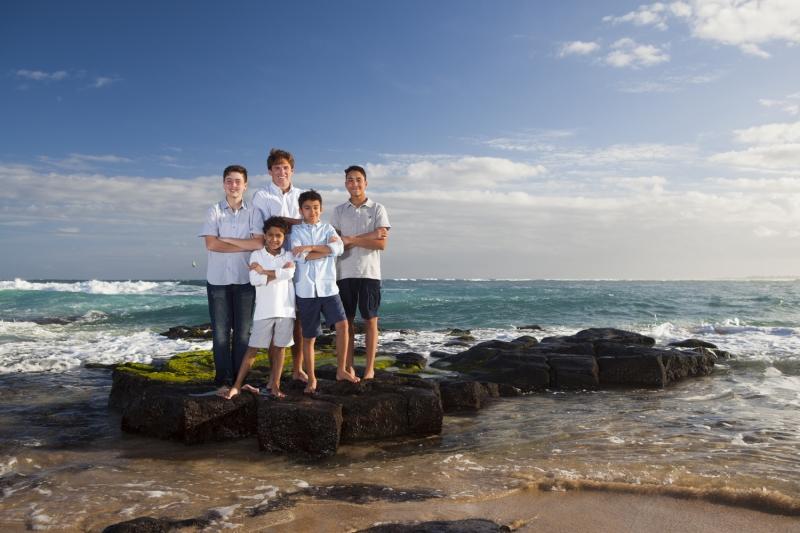 Kauai Family Portrait - 1608