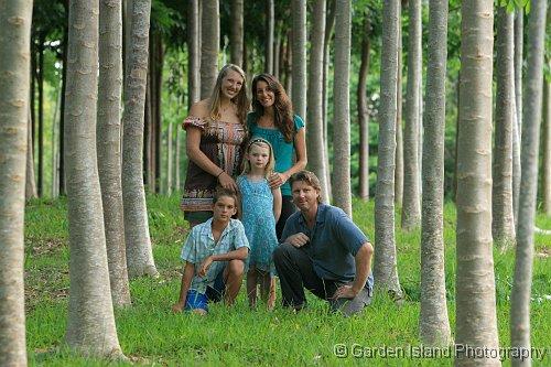 Kauai Family Portrait 1977