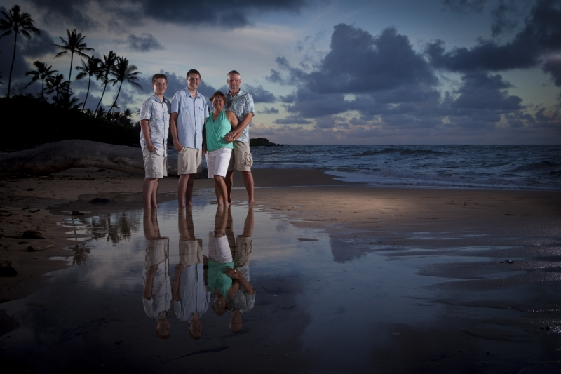 Kauai Family Portrait - 1237