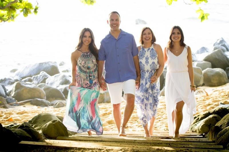 Kauai Family Portrait - 7918