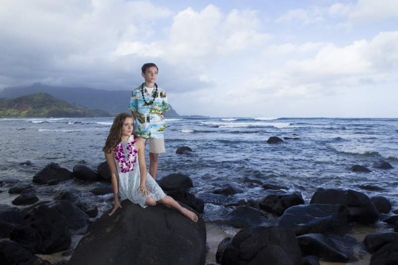 Kauai Family Portrait - 0435
