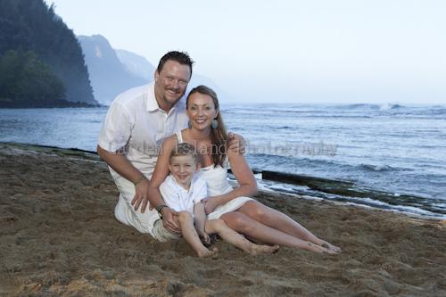 Kauai Family Portrait -4200