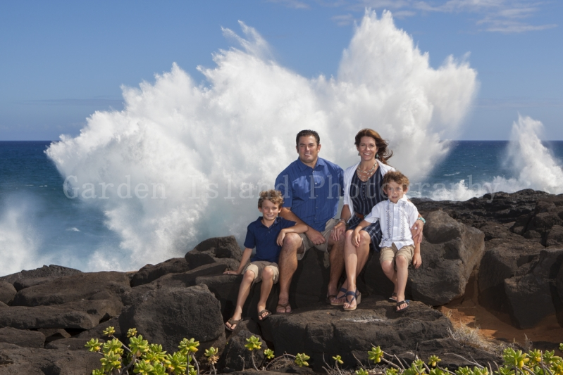 Kauai Family Portrait -7526