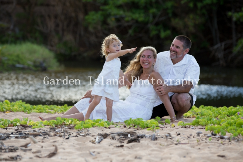 Kauai Family Portrait -5506