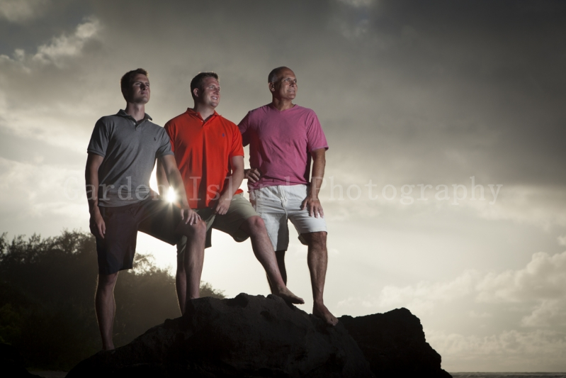 Kauai Family Portrait -7215