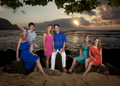Kauai Family Portrait -1320