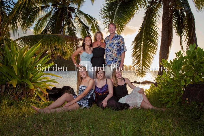 Kauai Family Portrait -5457
