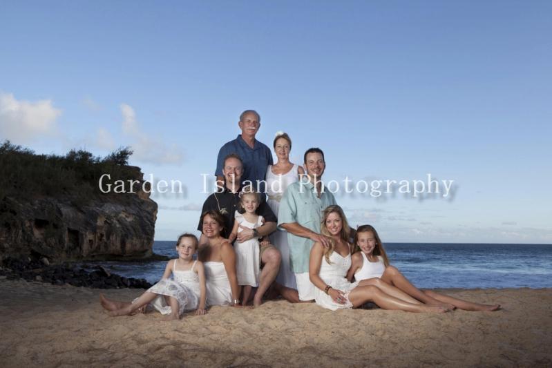 Kauai Family Portrait -5312