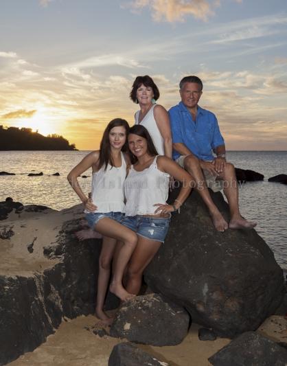 Kauai Family Portrait -4811