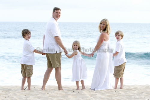 Kauai Family Portrait -5587