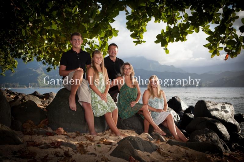 Kauai Family Portrait -6223