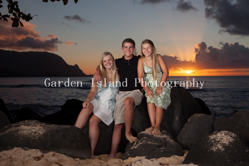 Kauai Family Portrait -6307