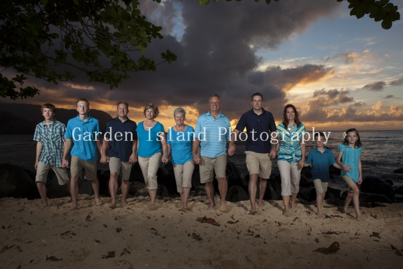 Kauai Family Portrait -4803