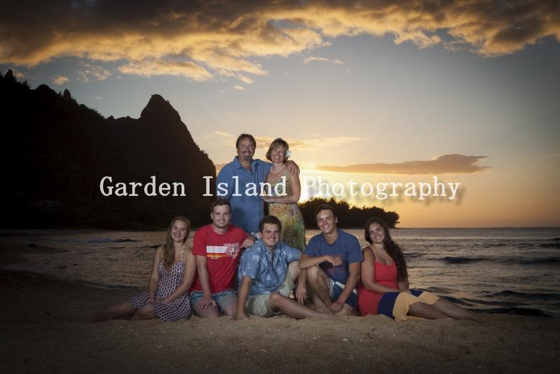 Kauai Family Portrait -0374