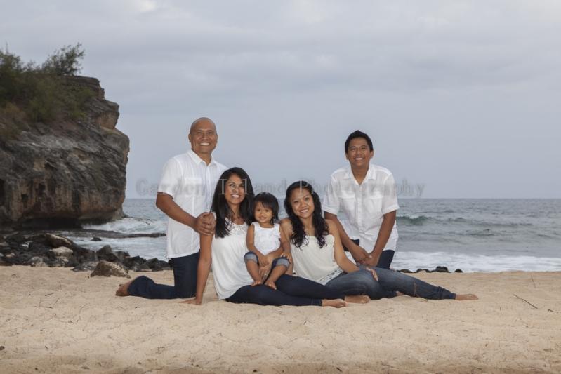 Kauai Family Portrait -5513