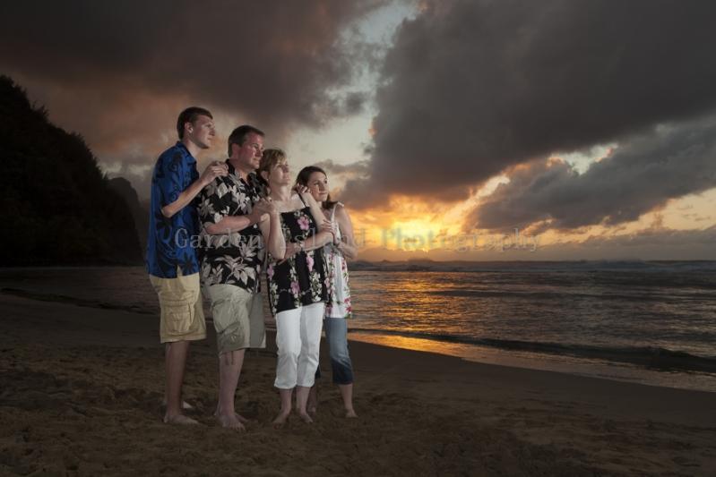 Kauai Family Portrait -9230