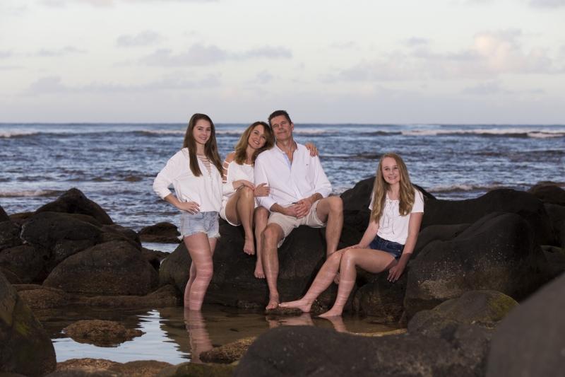 Kauai Family Portrait - 1038