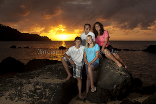 Kauai Family Portrait -1278