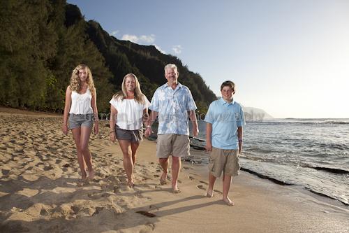 Kauai Family Portrait -5489