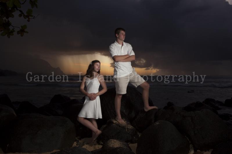 Kauai Family Portrait -7742