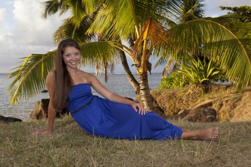 Kauai Senior Portrait -2353