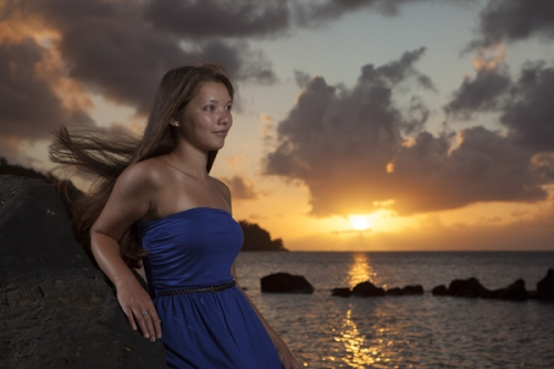 Kauai Senior Portrait -2443