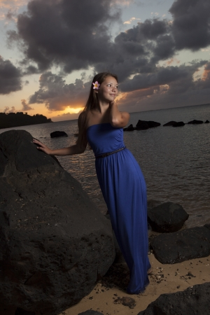 Kauai Senior Portrait -2458-2
