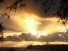 Sunburst over Princeville Point 2718