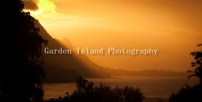 Hanalei Overlook Sunset 2019