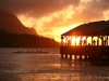 Hanalei Pier with Outrigger 3345-1